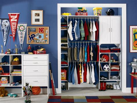How To Keep Clothes In Cupboard by Closets Clothing And Storage For Boys And