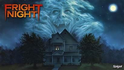 Horror Night Halloween Poster Comedy Vampire Fright