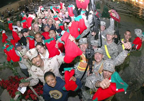 military christmas gifts to armed forces members yule