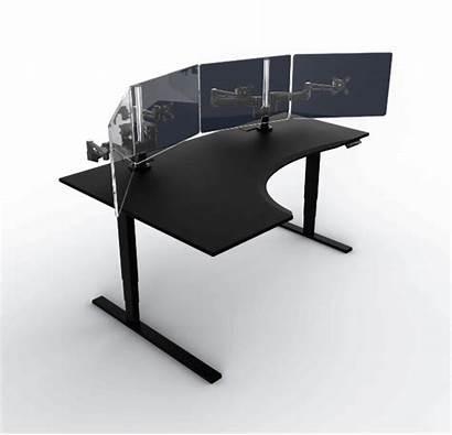 Desk Computer Gaming Custom Transparent Clipart Level