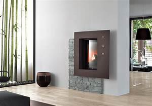 Poele A Granule Design : cheminee moderne a granule ~ Dailycaller-alerts.com Idées de Décoration