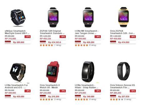 daftar harga smartwatch murah terbaru terbaik dibawah 1