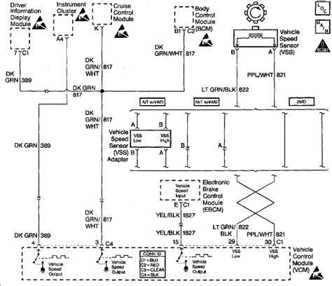 Silverado Speedometer Wiring Diagram by 2007 Silverado Sdometer Parts Diagram Downloaddescargar