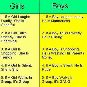 5 facts about Boys vs Girls | Books Worth Reading ...