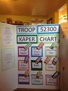 Girl Scout Kaper Chart Girl Scout Girl Scout Troop