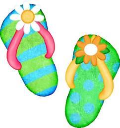Summer Flip Flop Clip Art
