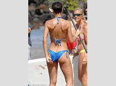 """Nicole Murphy spotted on the beach Filming """"Hollywood Exes"""