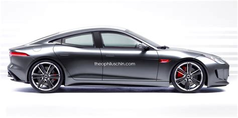New 4 Door Jaguar jaguar f type four door coupe looks dashing autoevolution