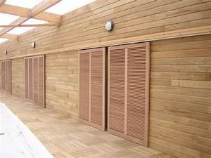 porte coulissante exterieur porte coulissant exterieur With comment faire une porte en bois pour exterieur
