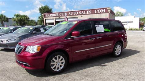 Used Cars Melbourne Florida 2016 Chrysler Town & Country