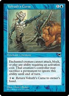 Volrath's Curse (Tempest) - Gatherer - Magic: The Gathering