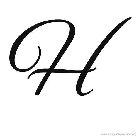 calligraphy alphabet h alphabet h calligraphy sle styles initials monograms names