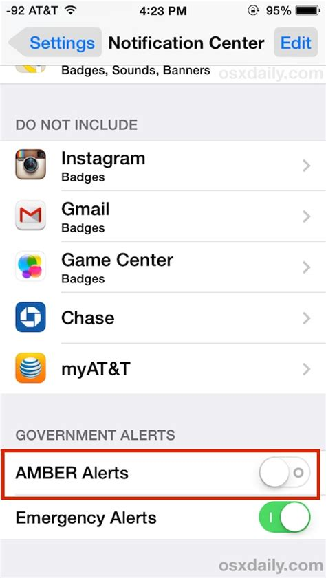 disable alert iphone how to disable alerts on the iphone