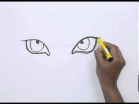 draw  tiger eyes youtube