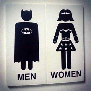 CHECK OUT 40 FUNNY AND UNIQUE RESTROOM SIGNS | Thrill Blender