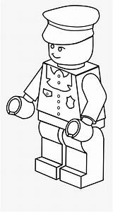 Lego Robber Coloring Clipart Transparent Police Builder Draw Clipartkey Pngkit sketch template
