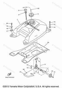 Yamaha Atv 2004 Oem Parts Diagram For Fuel Tank