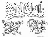 Government Coloring Pages Branches Branch Judicial Legislative Drawing Printable Printables Getdrawings Getcolorings Doodles Governme sketch template