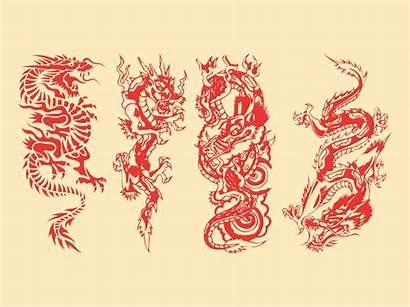 Vector Graphics Dragons Dragon Clipart Pack Vectors