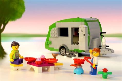 Lifesize Lego Camper Could Break The World Record