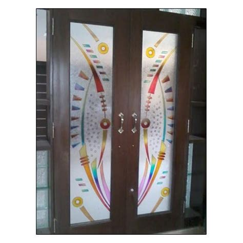 10 Latest Pooja Door Glass Designs With Pictures In 2019