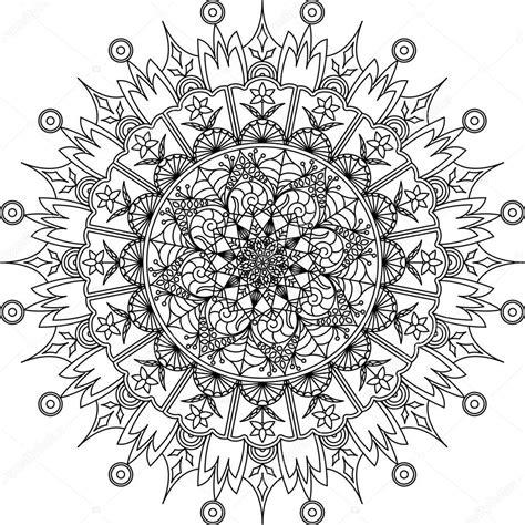 Kleurplaat Mandala by Mandala Kleurplaat Volwassenen