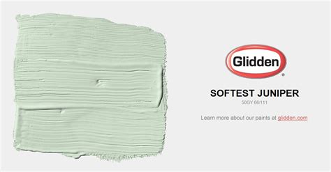 softest juniper paint color glidden paint colors