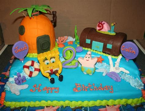 spongebob cakes decoration ideas  birthday cakes