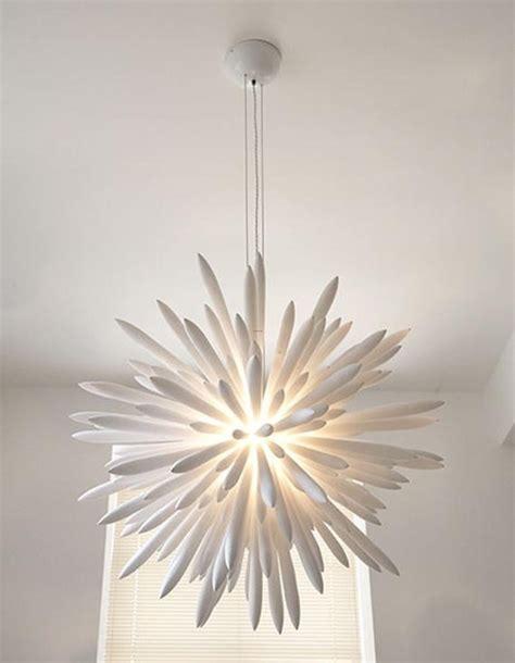 unique modern white chandelier design home interior