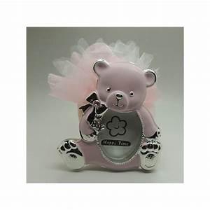 Photo Avec Cadre : cadre photo ourson avec drag es rose ~ Teatrodelosmanantiales.com Idées de Décoration