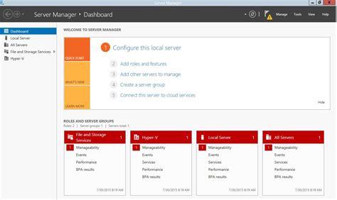 Windows Server 2012 R2 Server Manager Fails Automatic ...