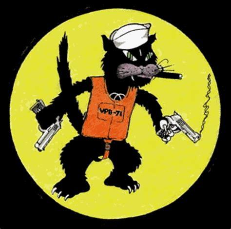 World Cat Boats Logo by Squadron Logos Black Cat Pbys