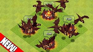 "Clash of Clans - ""24 LEVEL 5 DRAGONS ATTACKS!"" MAX LEVEL ..."