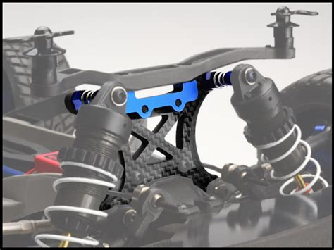 traxxas slash  carbon fiber front shock tower