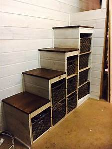 Trofast storage to sturdy stair conversion - IKEA Hackers