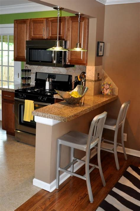 change the look of kitchen with unique breakfast bar ideas