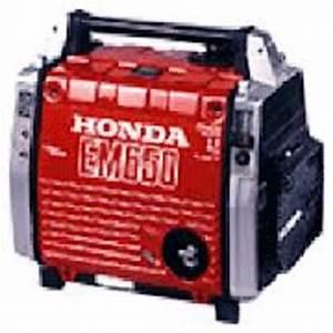 Honda Em650 Generator Service Repair Manual