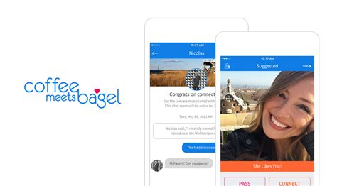 You browse other people's profiles and say whether you're interested or not. Coffee Meets Bagel (CMB) is a dating application that serves potential matches to over 1.5 ...