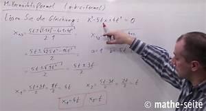 Mitternachtsformel Berechnen : mitternachtsformel a b c formel abc formel mathe ~ Themetempest.com Abrechnung