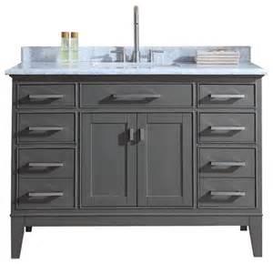 White 36 Bathroom Vanity Without Top by Shop Houzz Ari Kitchen Amp Bath Danny Single Bathroom