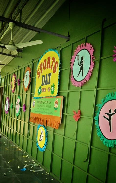 Backdrop Ideas For School by Stage Decoration Ideas For Sports Day Decoratingspecial