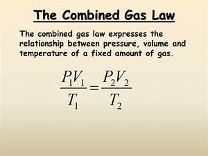Gas Laws - Presentation Chemistry