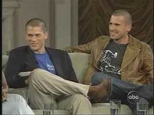 Wentworth Miller & Dominic Purcell - Live on the View ...