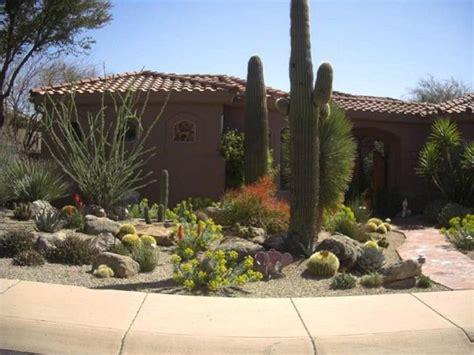 Backyard Desert Landscape Designs by Landscape Design
