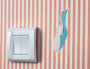 Comment Réparer Un Liner Déchiré : comment poser une rustine sur du papier peint ~ Maxctalentgroup.com Avis de Voitures