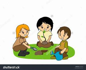 Kids Planting Seeds Clipart (55+)