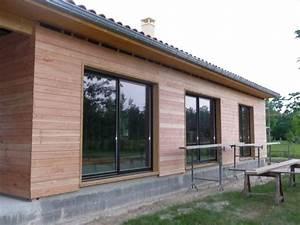 Ossature Bois Maison : quelle fondation pour maison ossature bois boismaison ~ Melissatoandfro.com Idées de Décoration