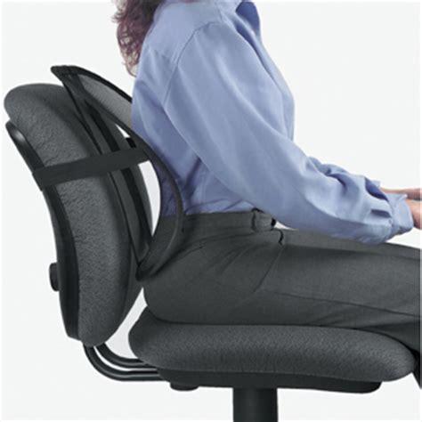 siege sans dossier ergonomique bureau cale dos pour siège de bureau prévient le mal de dos