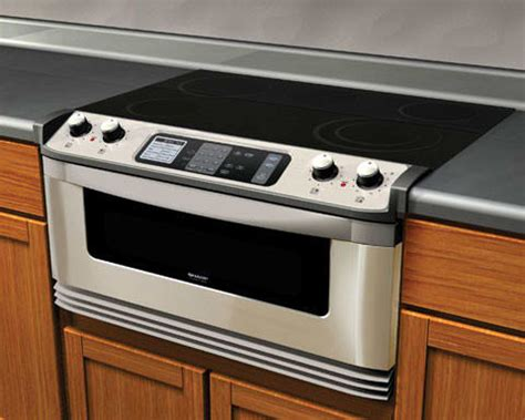 microwave drawer reviews sharp kb5121ks 30 inch electric cooktop and microwave