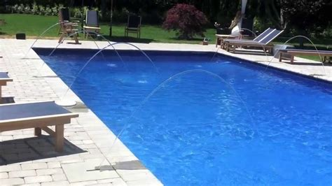 pool color southton watermill swimming pool water features and